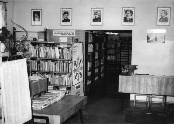 Z kart historii biblioteki