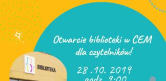 Otwarcie biblioteki w CEM w Piasecznie
