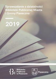 Sprawozdanie zdziałalności biblioteki za2019 rok