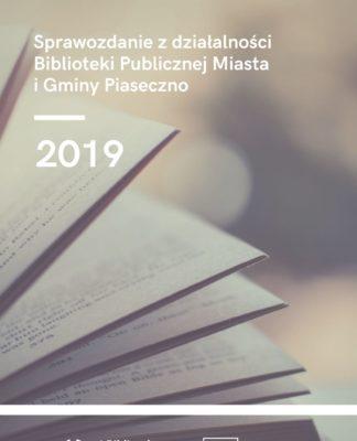 Sprawozdanie z działalności biblioteki za 2019 rok